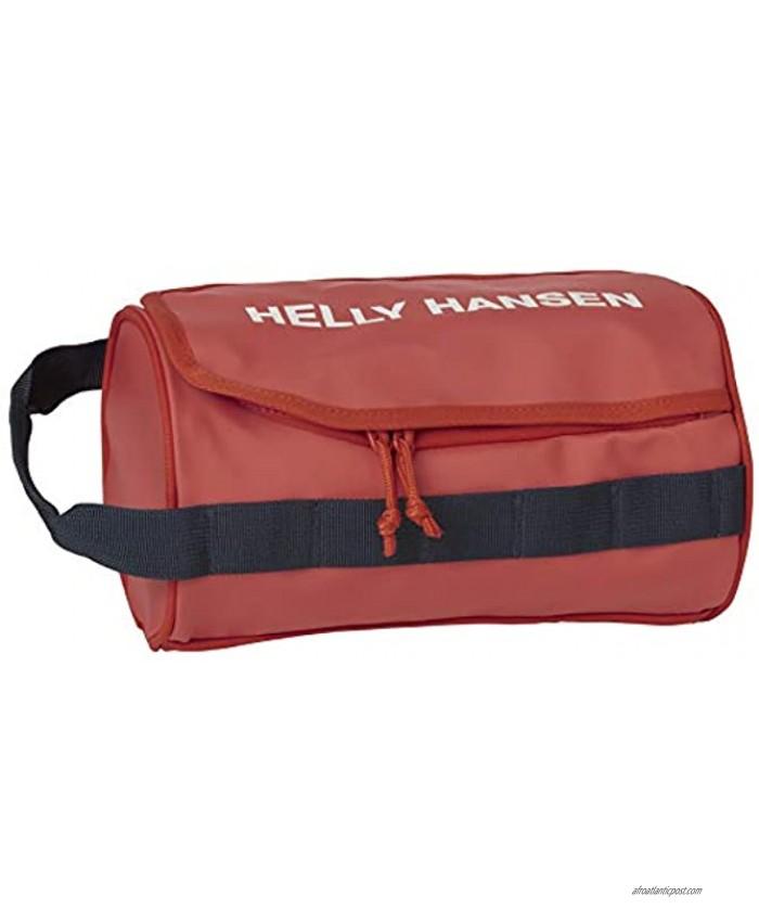 Helly-Hansen Unisex-Adult Wash Travel Bag 2 300 Patrol Orange One Size