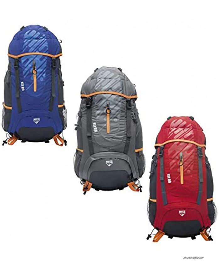 Pavillo Ultra Trek 60L Backpack 33x30x61cm Rucksack Multicoloured Large