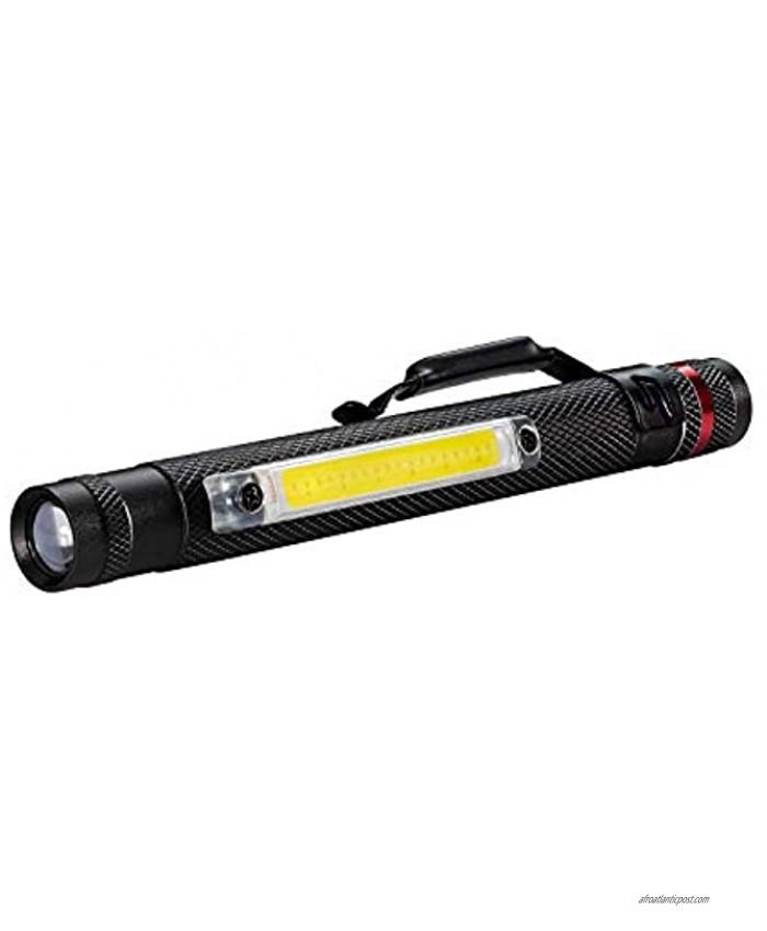 Coast G23 120 Lumen Alkaline Dual Power Magnetic LED Penlight with C.O.B. Area Light