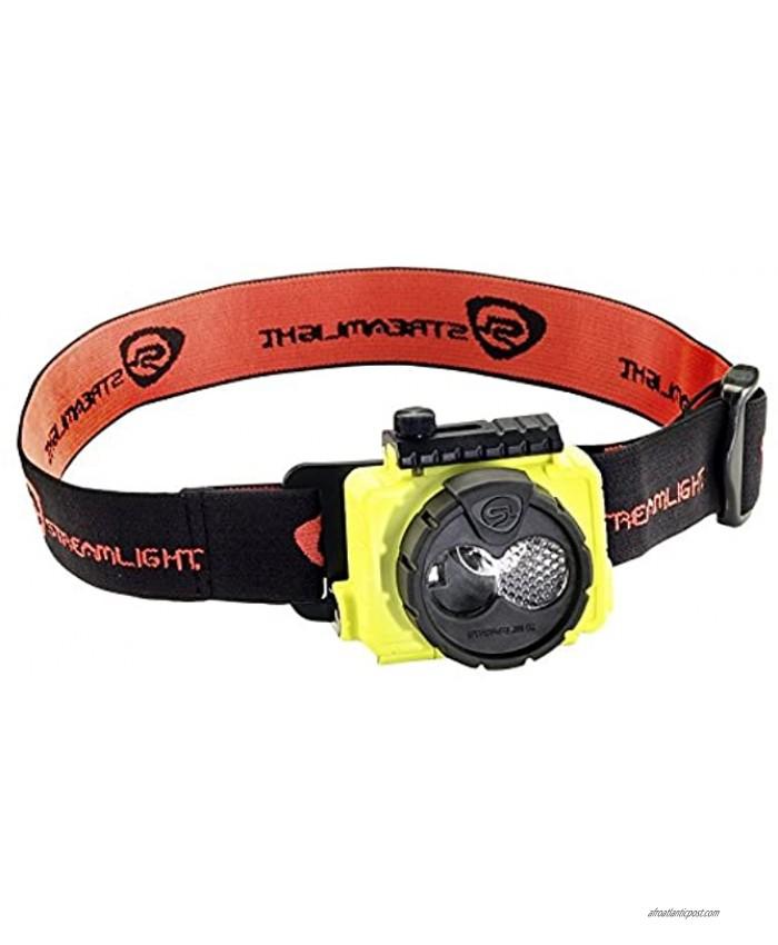 STREAMLIGHT 61600 Double Clutch USB Headlamp Yellow one Size