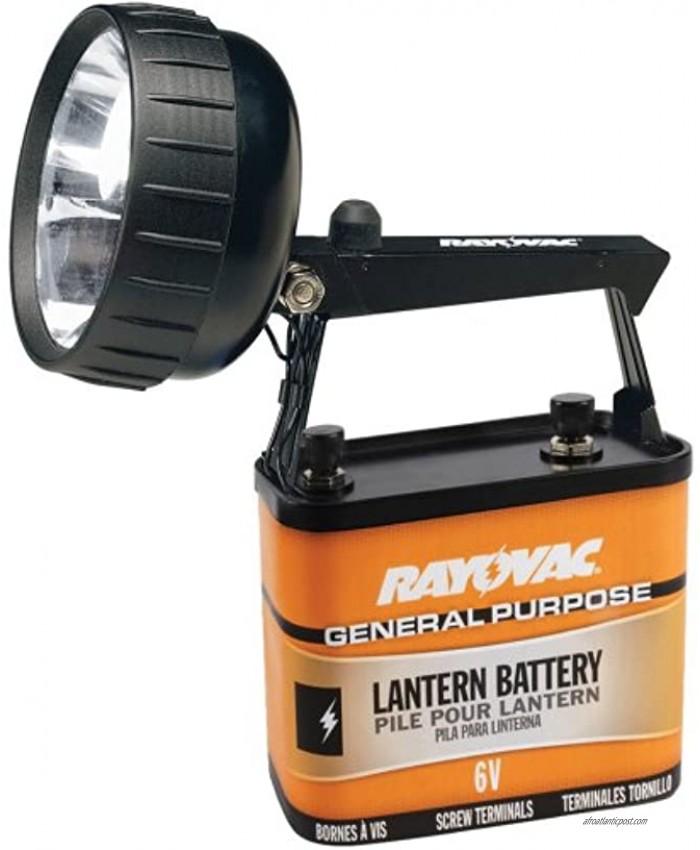 RAYOVAC Industrial Grade 75 Lumen 6-Volt Krypton Beam Lantern with Battery 301K-A