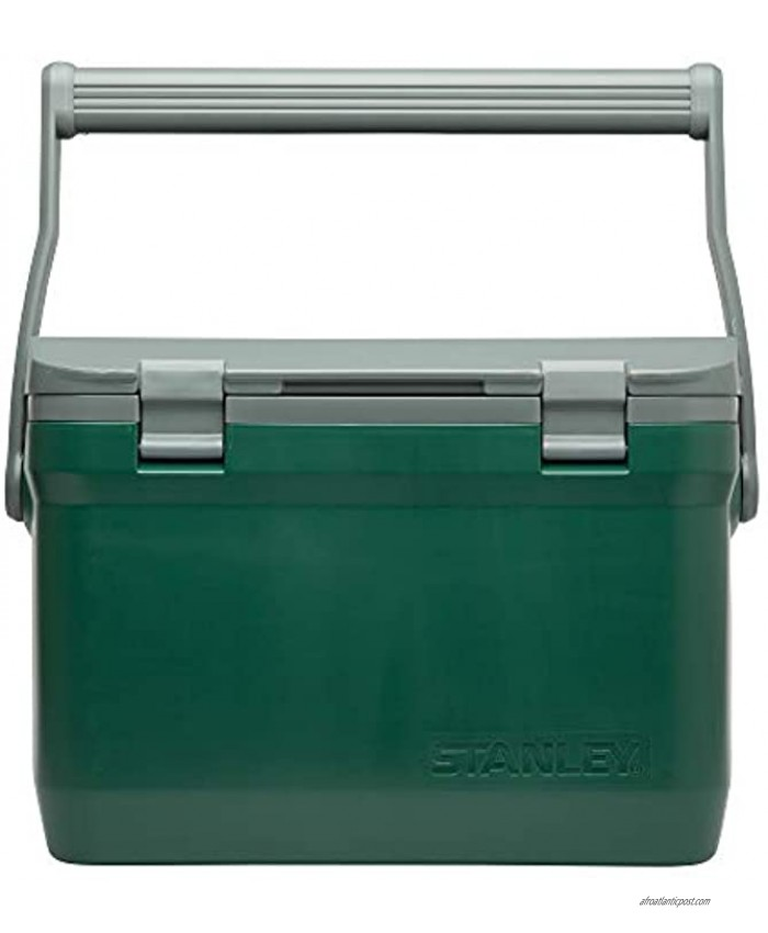 Stanley Adventure Leakproof Outdoor 7qt 10qt 16qt Cooler Double Wall Foam Travel Insulated BPA Free Chest Cooler Heavy Duty Camping Cooler with Flat Top Doubles as Seat
