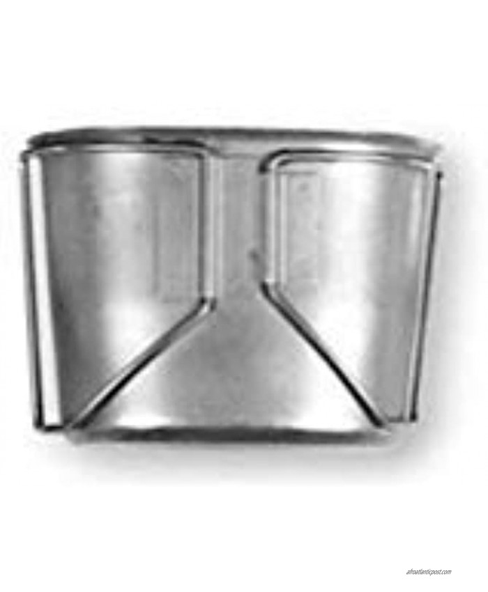 Military Outdoor Clothing Previously Issued G.I. Metal Canteen Cup W Wire Butterfly Handles 1 Quart