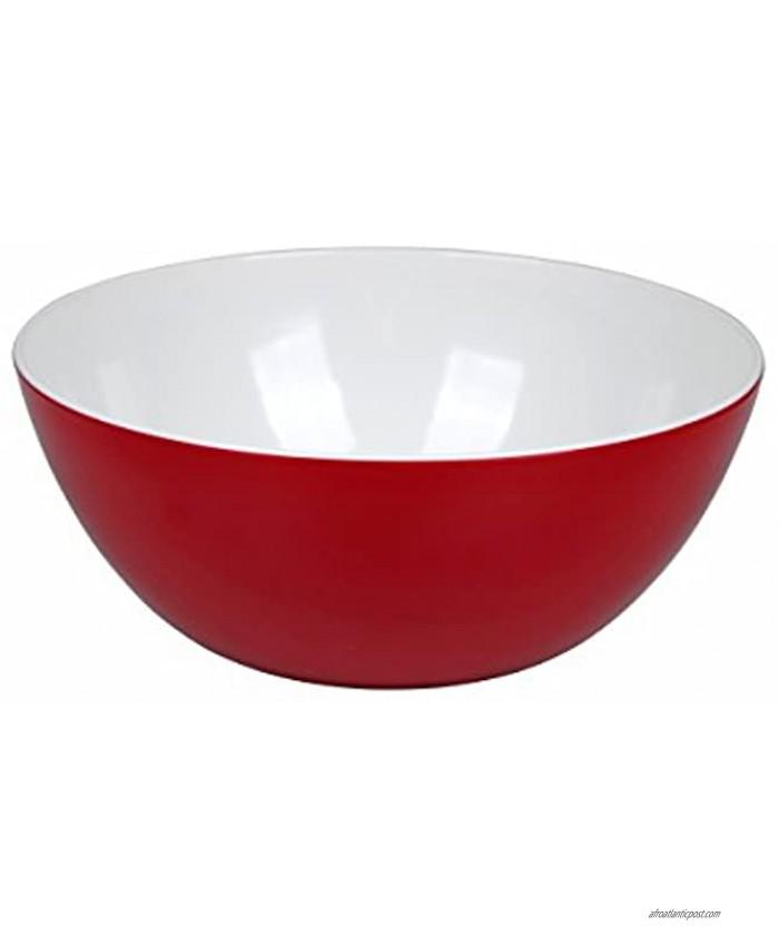 Bo-Camp Salad Bowl 100% Melamine Ø 25x10 cm Two-Tone