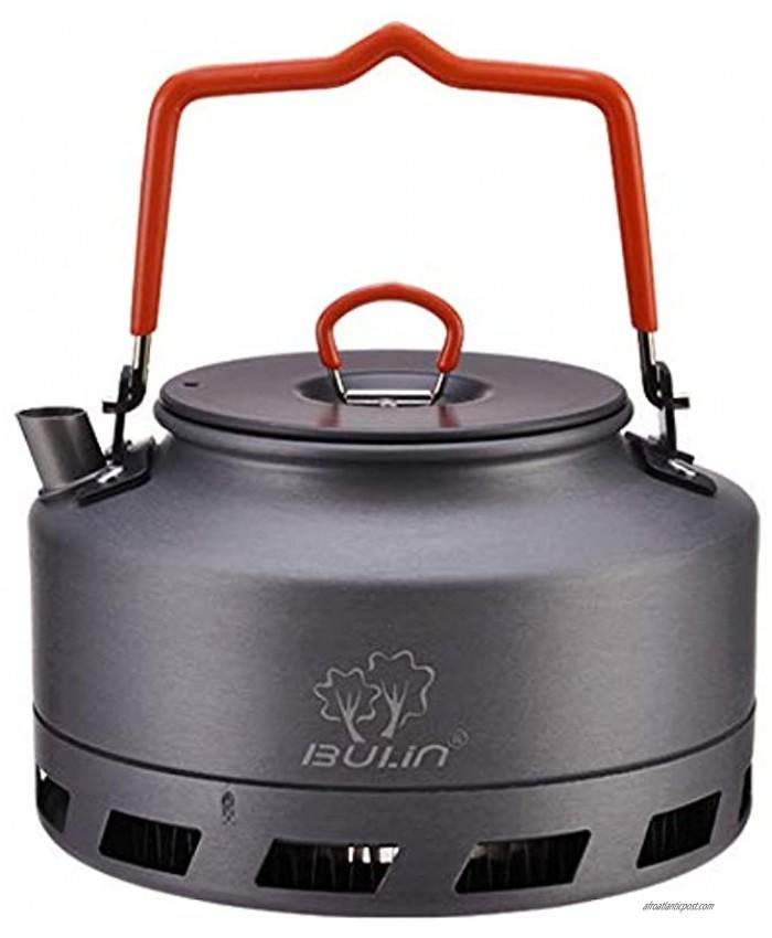 Bulin Camping Kettle 1.6 Liter Fast Heating Camp Tea Coffee Pot Outdoor Hiking Gear Portable Teapot