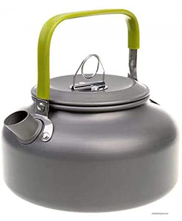 Camping Kettle 0.8L Portable Ultra-Light Outdoor Hiking Camping Picnic Water Kettle Teapot Coffee Pot Compact Quick-Heat & Anti-scalding