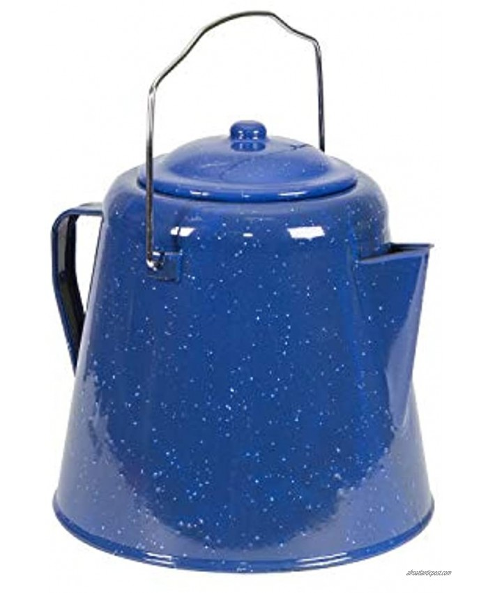 Stansport Coffee Pot 20 Cup  Blue