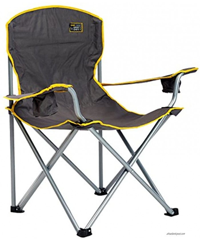 Quik Chair Heavy Duty Folding Camp Chair Extra Large Folding Chair