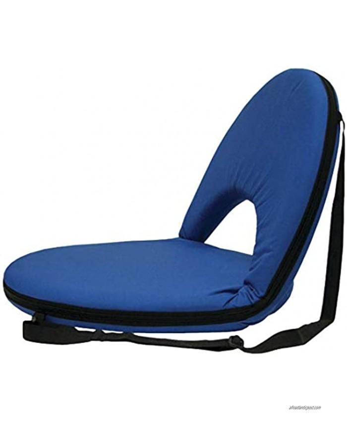 Stansport Go Anywhere Chair Blue 21.5 L x 20.5 W x 17 H
