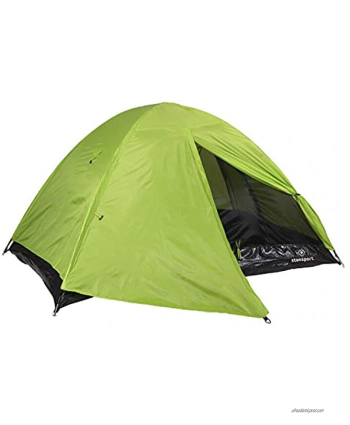 Stansport 723-800-STA 723-800 Star-Lite I Back Pack Tent with Fly 84 x 60 x 40,Neon Green