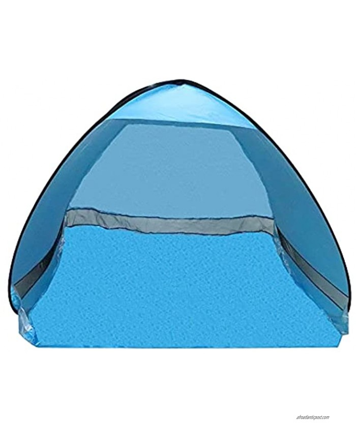 MOFANS Pop Up Beach Tent for 3-4 Persons UPF 50+ Beach Tent Sun Shade Shelter with Carry Bag Pop Up Tent for Beach and Home