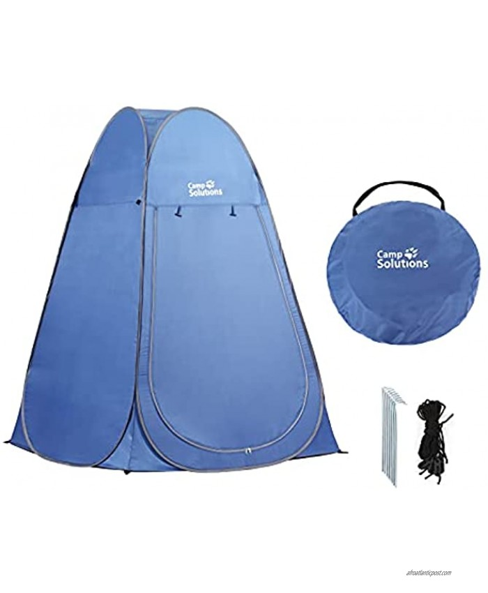 Portable Pop Up Privacy Shelter Camping Shower Tent Cabana Screen Room Outdoor Toilet Beach Changing Bathing Park with Carry Bag