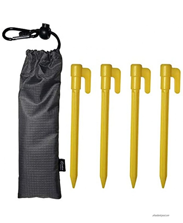 Pratico Outdoors Plastic Camping Stakes