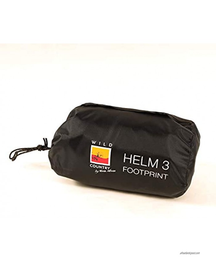 Wild Country Unisex's Helm 3 Footprint Groundsheet Protector Black One Size