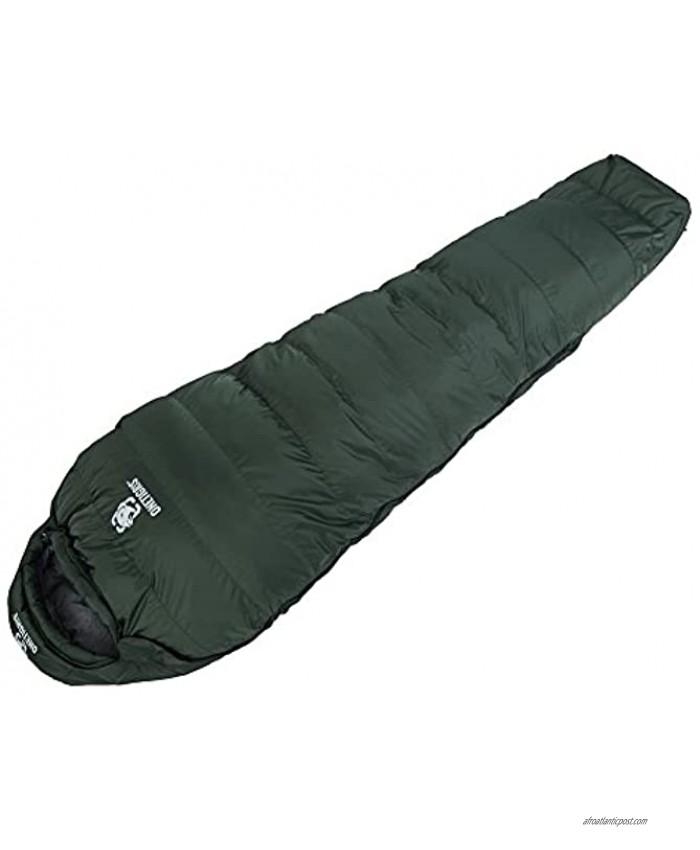 OneTigris Nordic Defender Down Sleeping Bag Winter 5F Degree