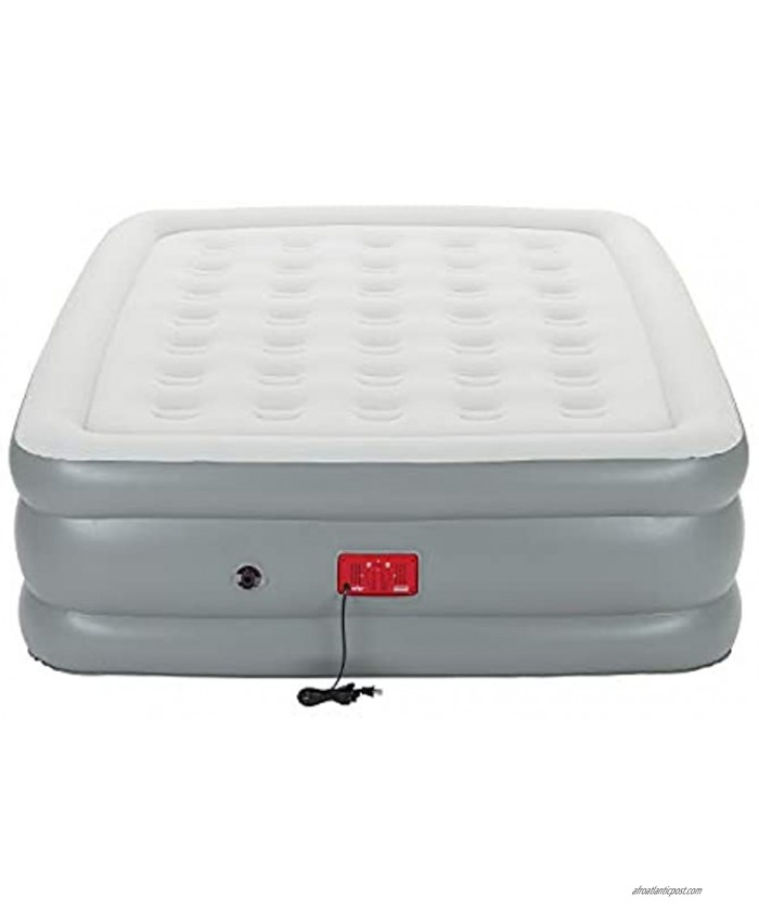 Coleman Air Mattress with Built-in Pump   SupportRest Elite Double-High Inflatable Air Bed Queen ,20