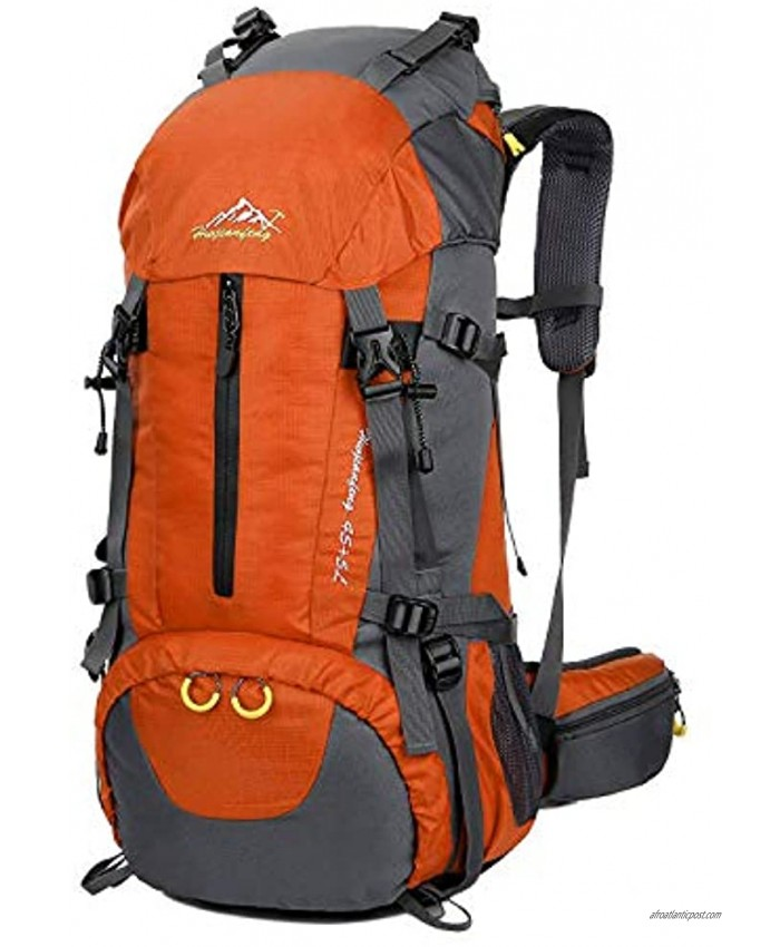 Esup Hiking Backpack 50L Mountaineering Backpack with 45L+5L Rain Cover