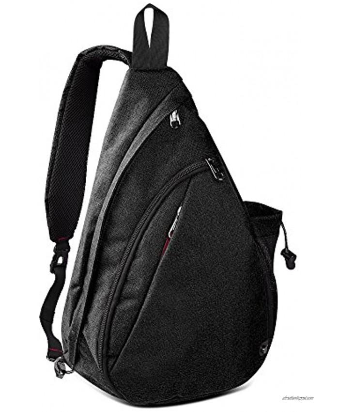 OutdoorMaster Sling Bag Crossbody Shoulder Chest Urben Outdoor Travel Backpack for Women & Men
