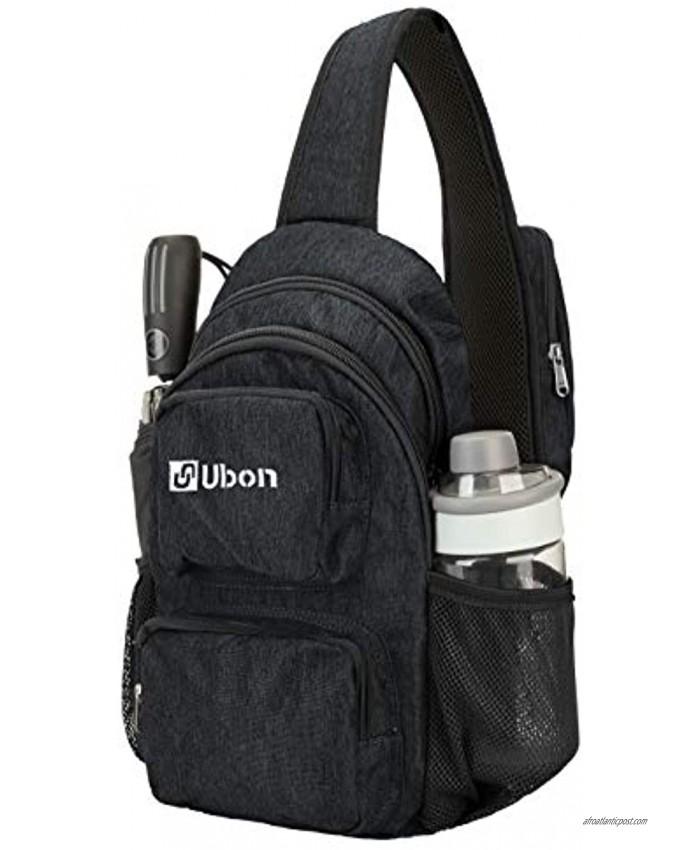 Ubon Small Sling Bag Lightweight Crossbody Bag Multipurpose Daypack with Phone Pocket Outdoor Fits Men&Women