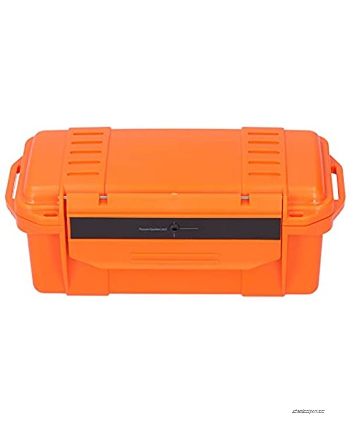 Diydeg Tool Storage Box Waterproof Light Weight Outdoor Tool Box Portable ABS Reinforced Hard Plastic for Fishing for Camping for Travel