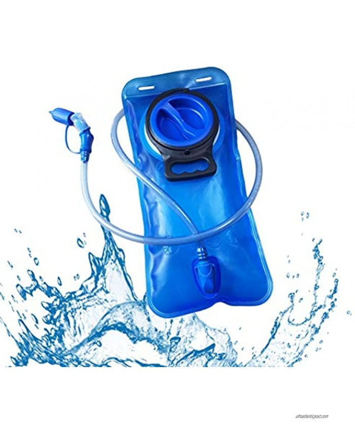 Jecpuo Hydration Bladder Water Bladder Water Bladder Hydration Leakproof Water Storage Bladder Bag Ideal for Hiking Camping Cycling and Running