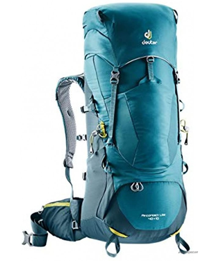 Deuter Aircontact Lite 40+10 Backpack for Hiking and Mountaineering Denim-Arctic