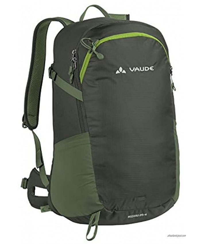 VAUDE Unisex's Wizard 24+4 Backpack Olive One Size