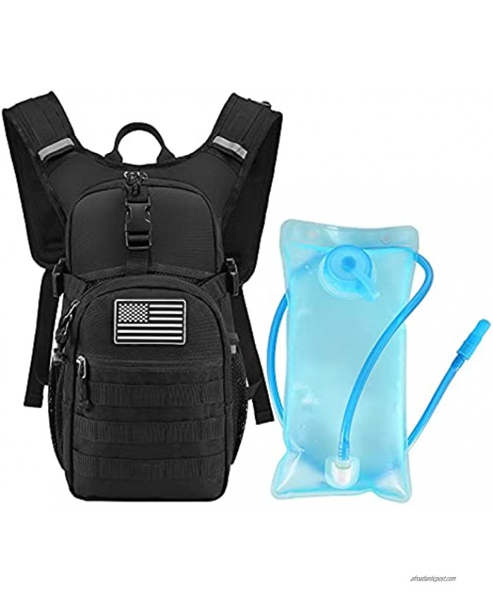 Sucipi Hydration Pack with 2L Hydration Bladder,Lightweight,Insulation,Water Backpack for Hiking Running Climbing Hunting Biking
