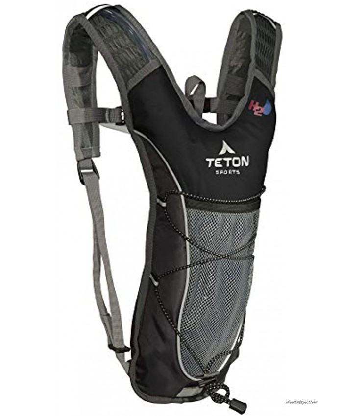 TETON Sports TrailRunner 2.0 Hydration Pack; Backpack for Hiking Running and Cycling; Free 2-Liter Hydration Bladder